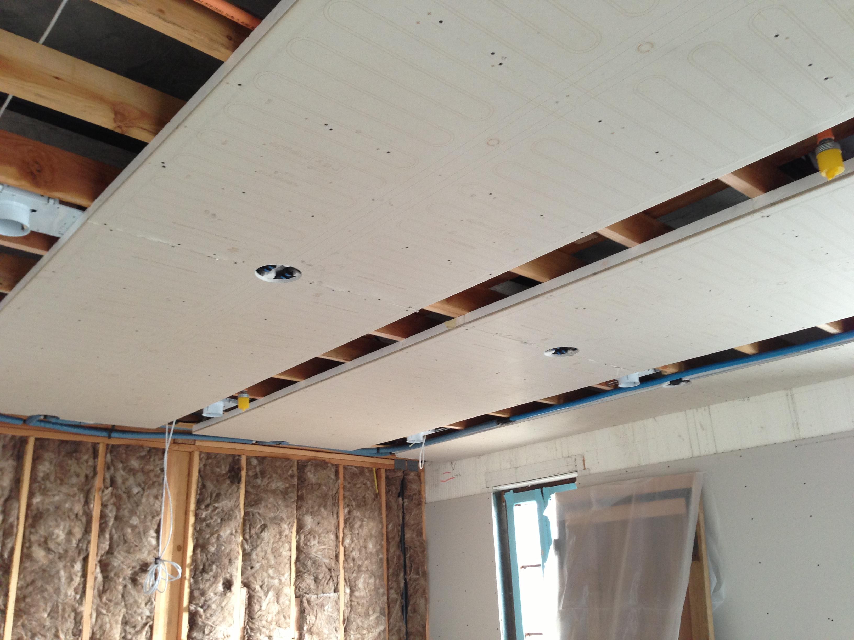 Radiant Ceiling Heat Repair  Ceiling Design Ideas