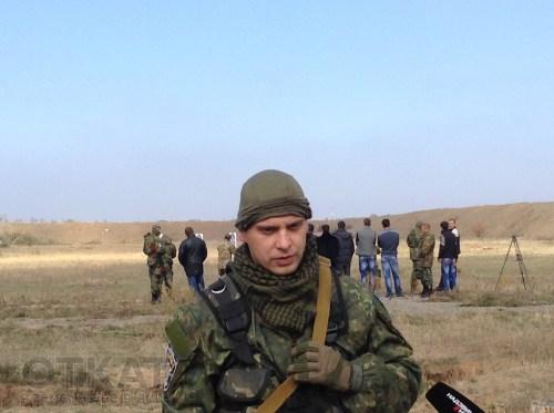 боец батальона «Киев-1» Вячеслав