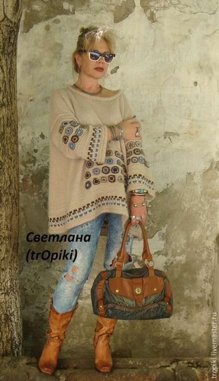"""Шикарная туника """"Сабрина"""" от Светланы Волкодав"""