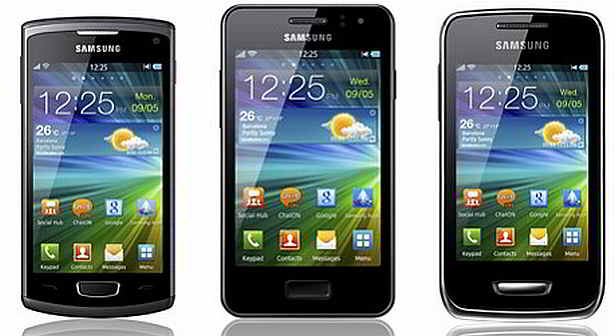 Samsung Trio – tri SIM kartice