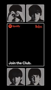 Snapchat Filter - What is the Beetles Join The Club Filter
