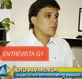 [Entrevista] Oto Alvarenga na Globo (G1)
