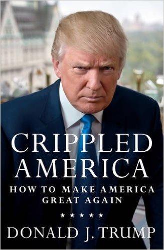 Livro de Trump: polêmica estampada na capa