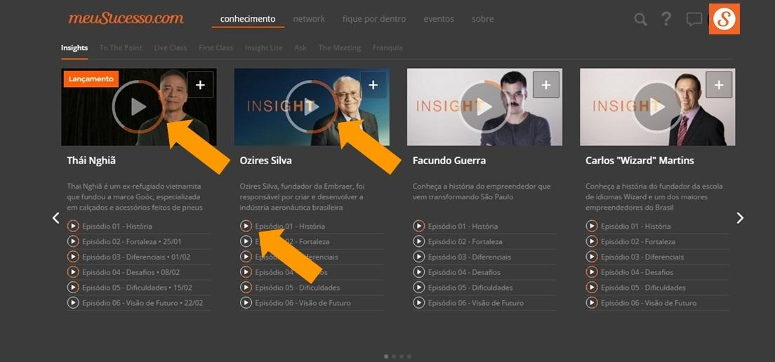 Conteúdo - MeuSucesso.com Flávio Augusto
