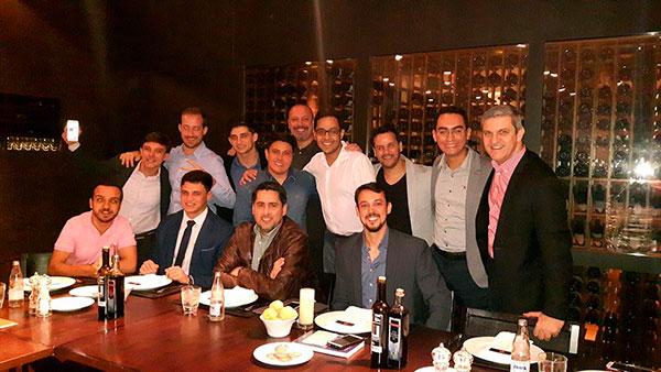 jantar brave club com flávio augusto