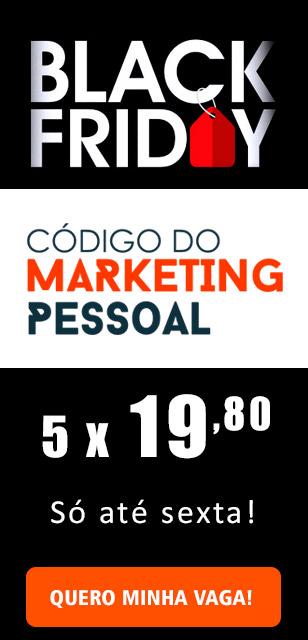 Black Friday Código do Marketing Pessoal