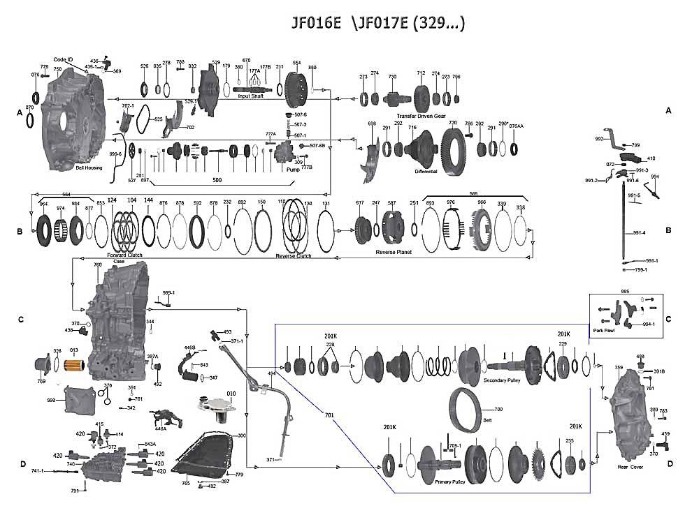 JF016E