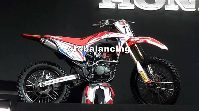 Detail CRF 150 versi konsep, Pakai mesin Verza 150 Cak…!!!