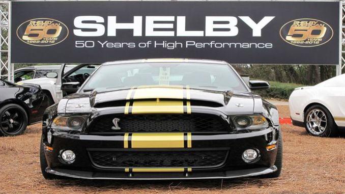 Inilah Wujud Shelby Mustang 50th Anniversary Super Snake