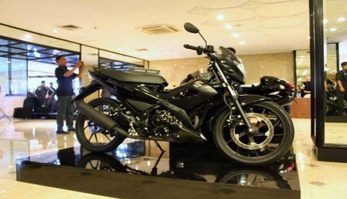Spesifikasi Suzuki Motor Satria F150