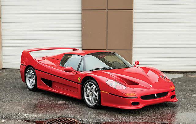 Ferrari F50 eks Mike Tyson Siap Dilelang