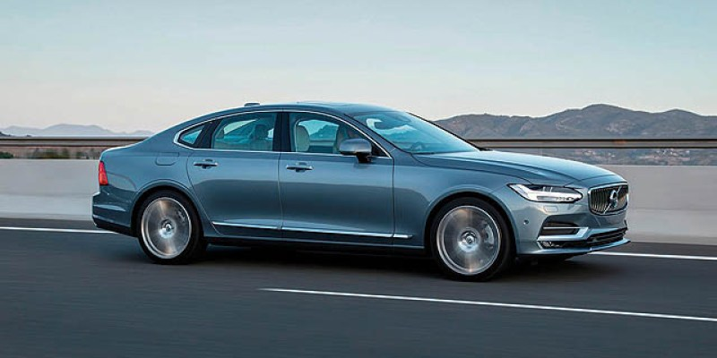 First Drive I Volvo S90 2017