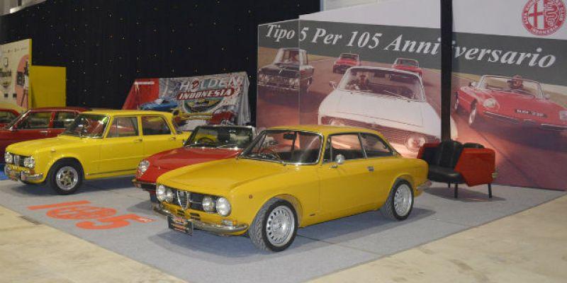 "AROCI Rayakan ""Anniversary 105th Alfa Romeo Series 105"" di OICC-Show 2015"