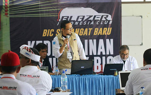 Blazer Indonesia Club Gelar Rakernas 2017