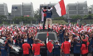 Konfigurasi Garuda Menyambut Dirgahayu Republik Indonesia Ke-72