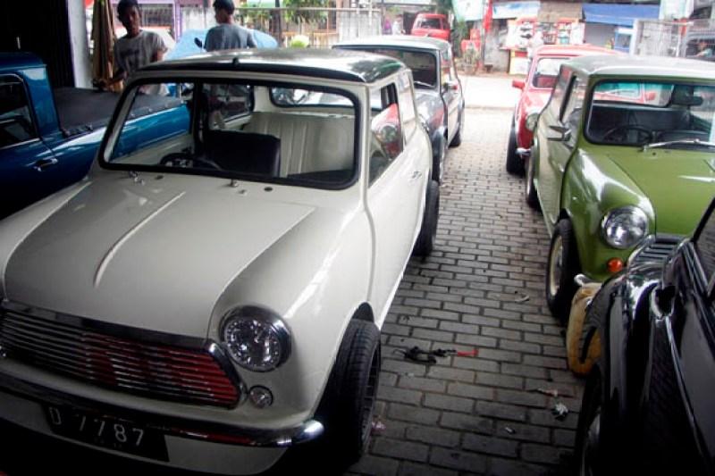Qq Mini Morris Siap Perbaiki Mobil Mini Kesayangan Anda Otoblitz