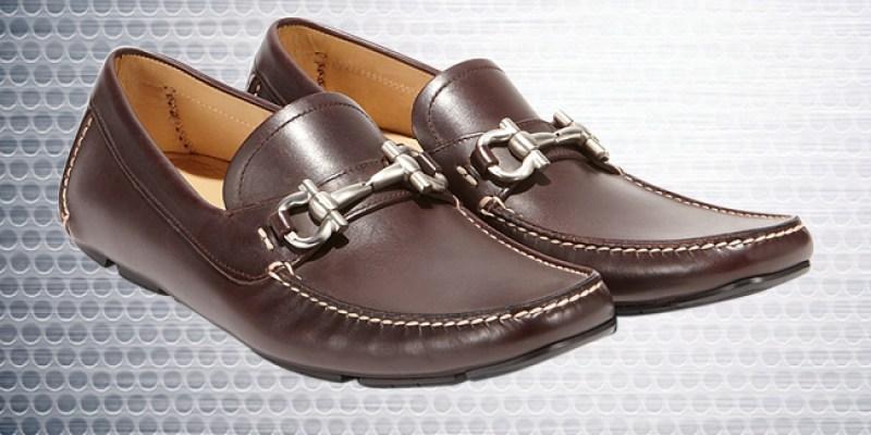 Salvatore Ferragamo Gancio Bit Driver Shoes – Sepatu Pria