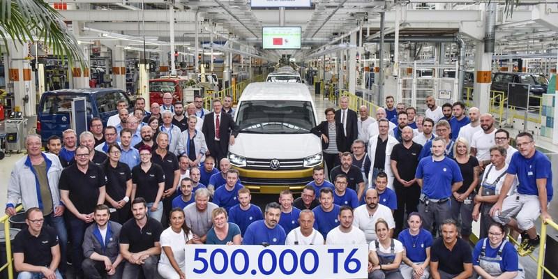 Cukup 3 Tahun, Volkswagen Transporter T6 Tembus 500.000 Unit
