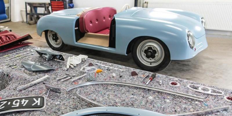 "Porsche 356 ""No.1"" Roadster Show Car, Rumitnya Restorasi"