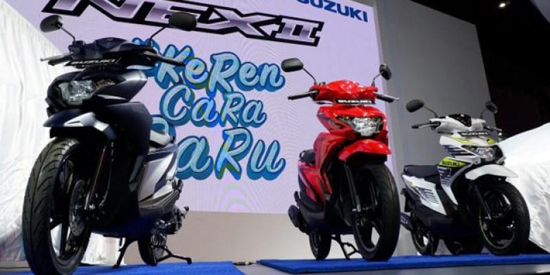 Motor Suzuki Paling Laku di PRJ 2018