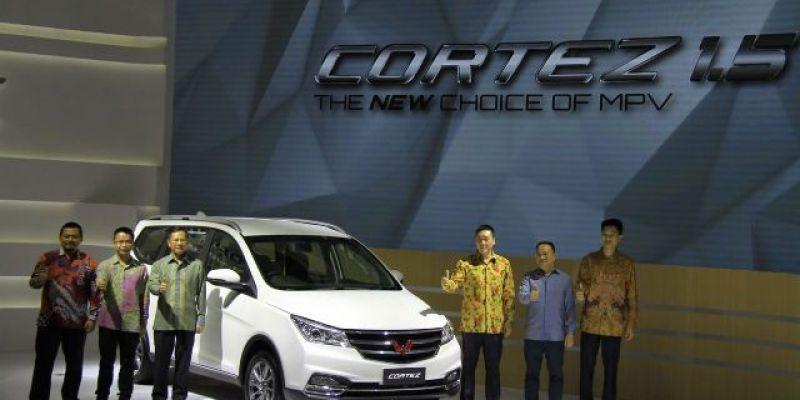 IIMS 2018: Wuling Cortez 1.5L Ungkap Harga Menggiurkan