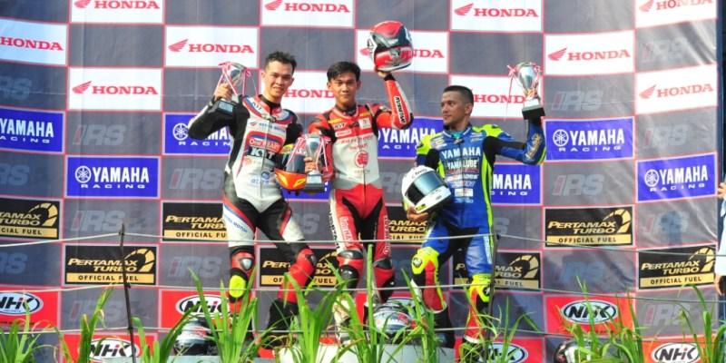 IRS Seri 2, Awhin Sanjaya Sukses di Kejurnas Sport 250cc