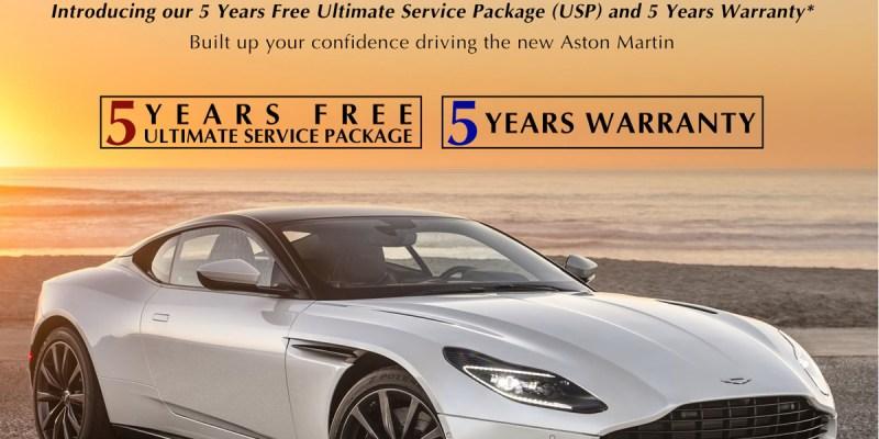 Program Garansi Lima Tahun Aston Martin