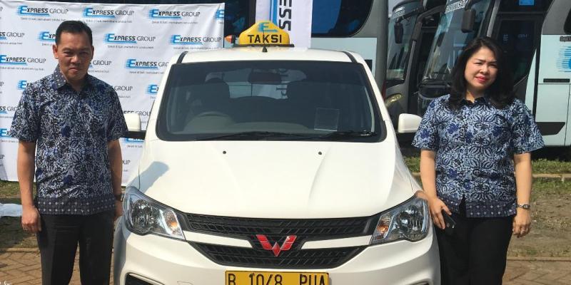 150 Taksi Wuling Confero Mulai Beroperasi di Jakarta