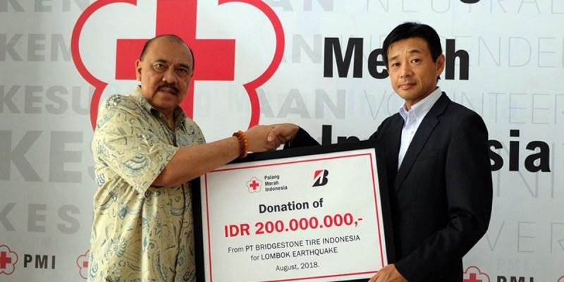 Bantuan Bridgestone Untuk Gempa Lombok