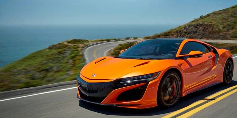 Debut Pertama Acura NSX 2019 di Monterey Car Week