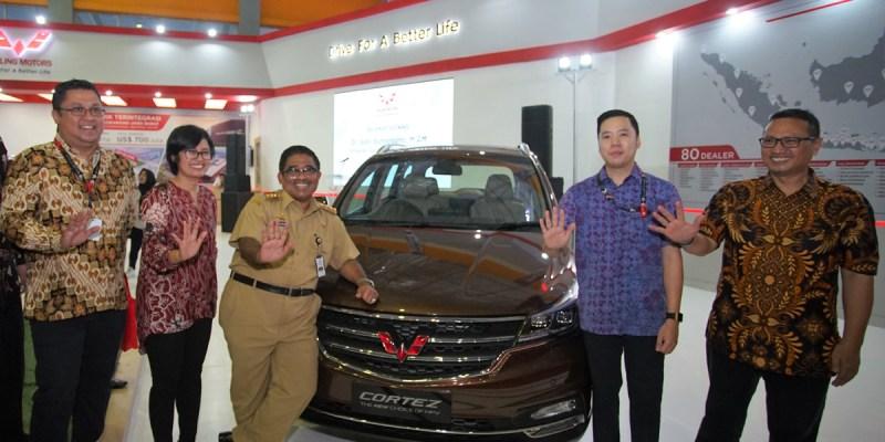 Kehadiran Wuling di GIIAS Makassar Auto Show 2018
