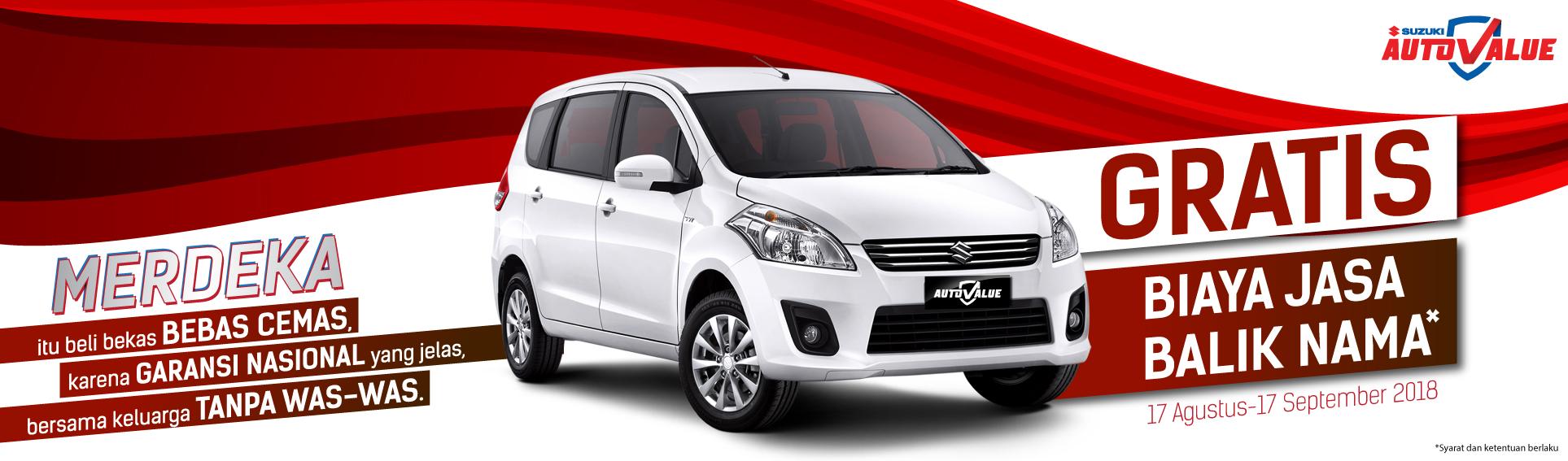 Beli Mobil Bekas Suzuki Gratis Biaya Jasa Balik Nama ...