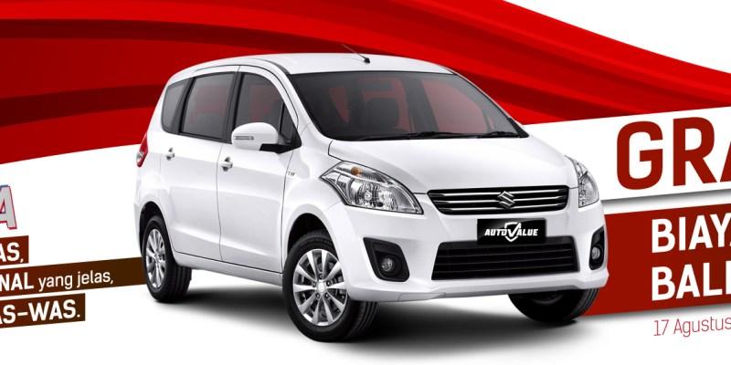 Beli Mobil Bekas Suzuki Gratis Biaya Jasa Balik Nama