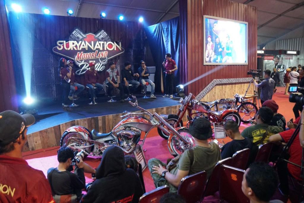 Iconic Bike Suryanation Motorland 2018 Akan Hadir di Semarang
