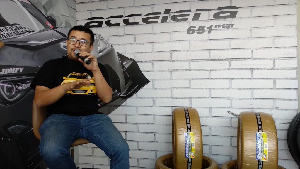 Akbar Rais Tepis Paradigma Gunakan Accelera 651 Sport