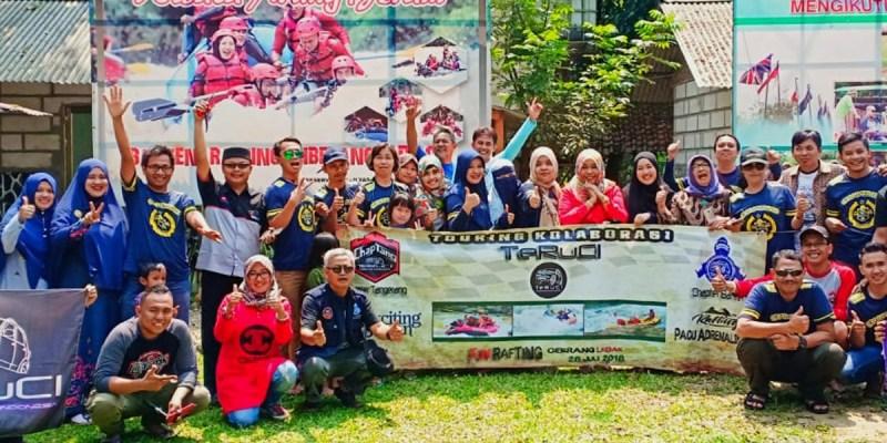 Family Fun Rafting TeRuCi di Banten