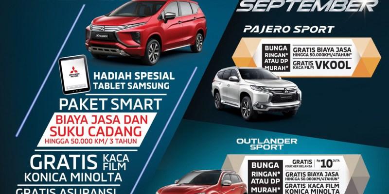 Kendaraan Unggulan di Mitsubishi Motors Special Exhibition Bandung
