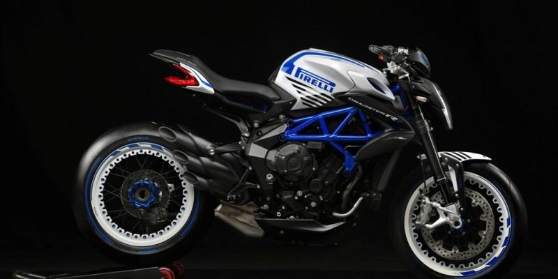 Kolaborasi Pirelli-MV Agusta Lahirkan Dragster 800R Limited Edition