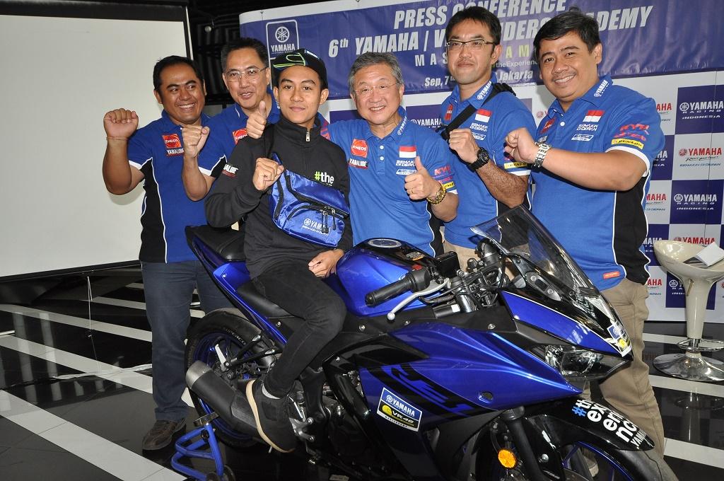Yamaha Indonesia Kirim Faerozi ke Sekolah Balap Valentino Rossi