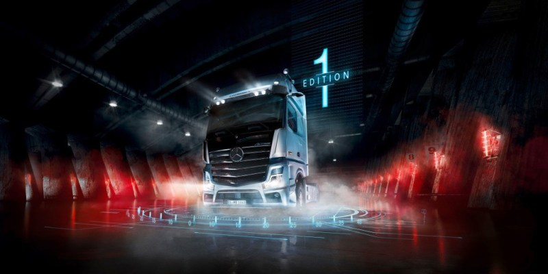 "Mercedes-Benz Actros ""Edition 1"", Hanya 400 Unit!"