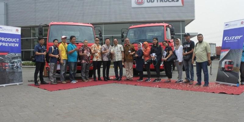 UD Truck Perkenalkan Kruzer di Surabaya