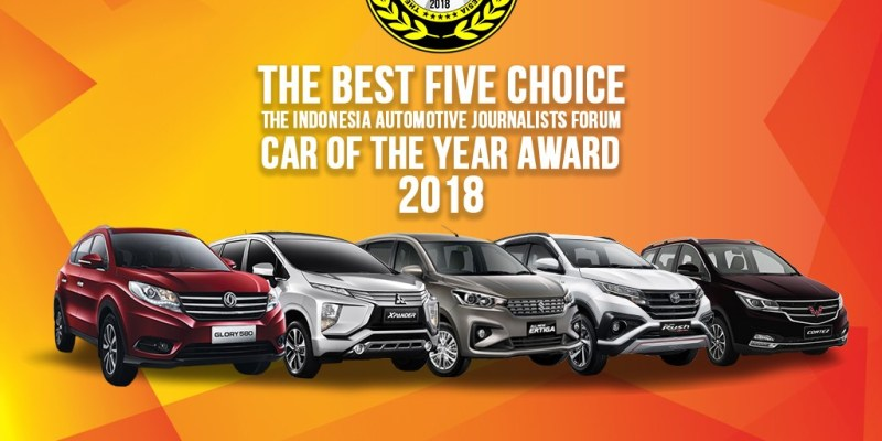 Ini Dia, Finalis FORWOT Car of the Year 2018