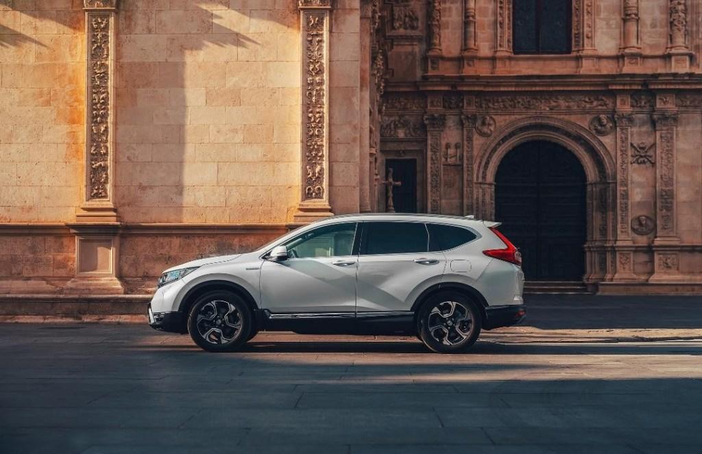 All New Honda CR-V Hybrid di Paris Motor Show 2018
