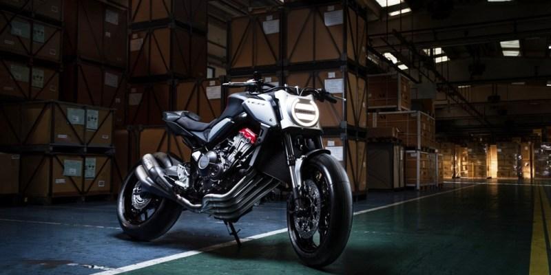 Honda Neo Sport Cafe Concept, Menggoda Intermot 2018