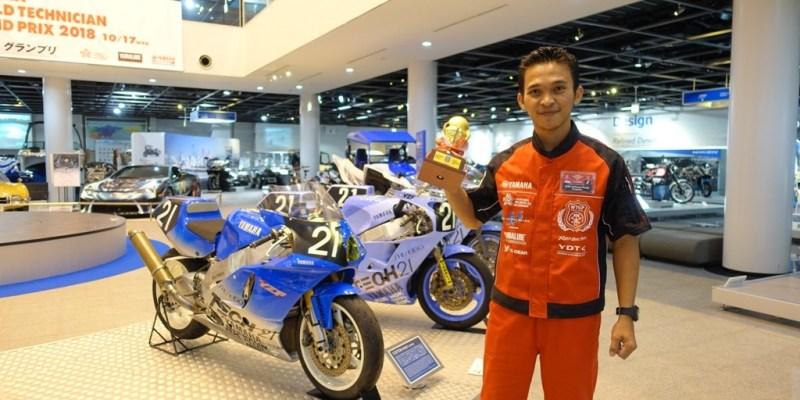 Teknisi Yamaha Asal Jember Ini Jadi Pemenang Kedua di Jepang