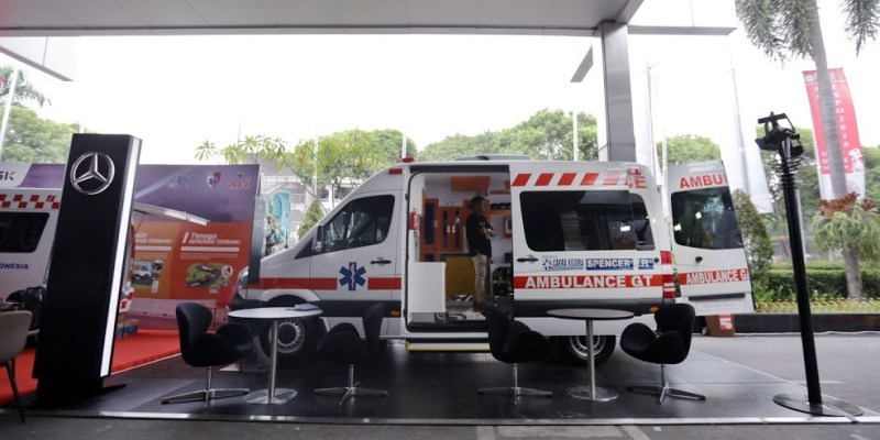 Mercedes-Benz Sprinter Jadi Ambulance Mewah