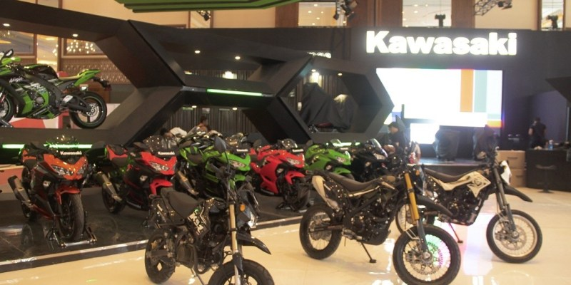 Pamerkan Semua Model, Ini Program Menarik Kawasaki di IMOS 2018