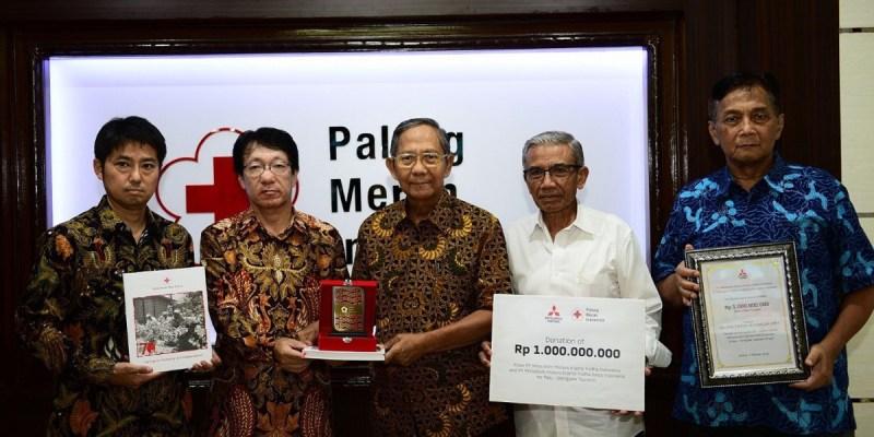 Donasi Group Mitsubishi Untuk Korban Gempa di Sulawesi
