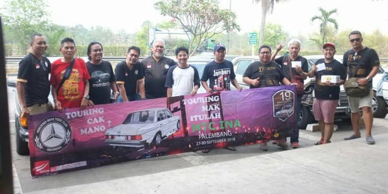 'Touring Mak Itulah MTC INA' ke Jamnas MB Club INA Palembang