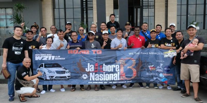 Puluhan Member MB W211 CI Hadiri Jamnas MB Club INA ke-13